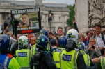 UK Far-Right Clash with Police at Anti-Islam London Rally