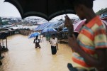 Rohingya Refugees at Risk of Dying in Landslides, Floods, Cyclones