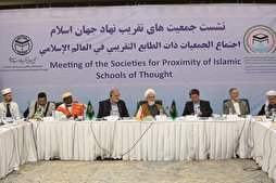 Societies for Proximity of Islamic Schools of Thought Hold Meeting in Tehran