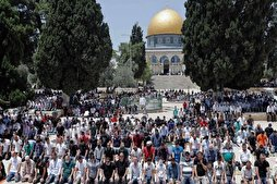 20,000 Palestinians Attend Friday Prayers at Al-Aqsa Mosque